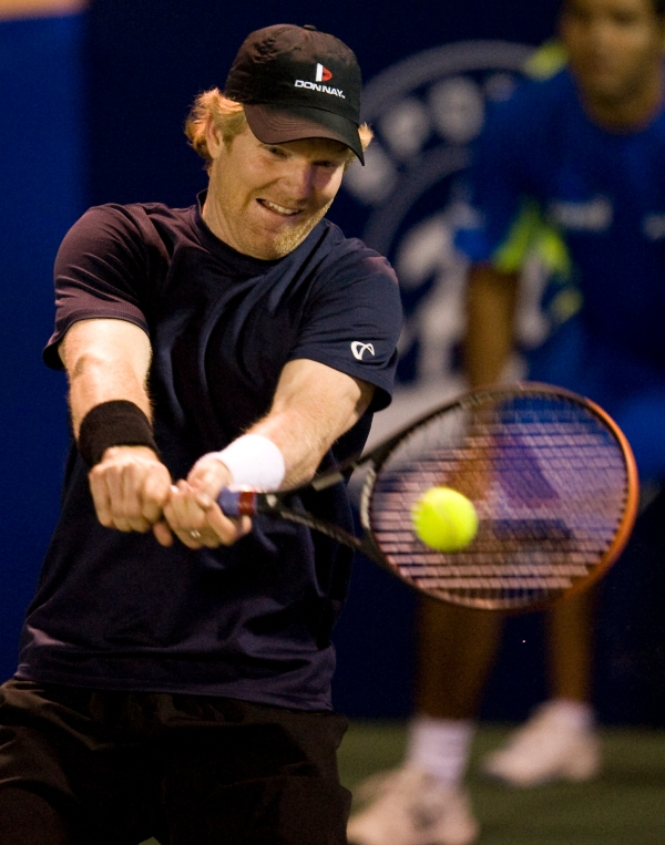 Tennis Player Jim Courier