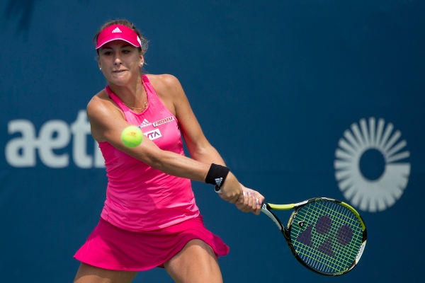 CONNECTICUT OPEN - DAY 2 SATURDAY, AUGUST 16, 2014 BELINDA BENCIC vs. AN-SOPHIE MESTACH