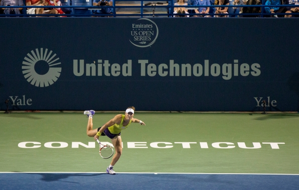 CONNECTICUT OPEN - DAY 6 WEDNESDAY, AUGUST 20, 2014 SAMANTHA STOSUR vs. EUGENIE BOUCHARD